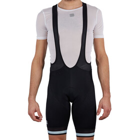 Sportful Bodyfit Team Classic Bib Shorts Heren, black blue sky